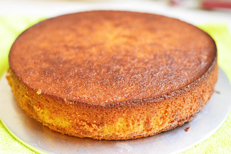 Orange torte (glutenfree)
