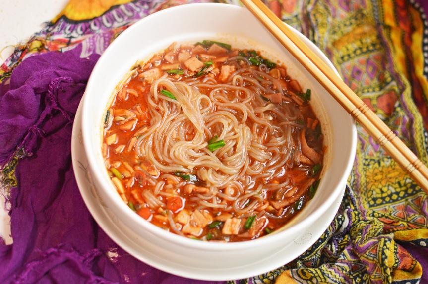 Korean style noodles