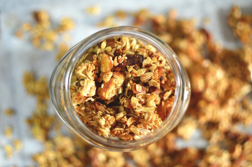 Fat free granola