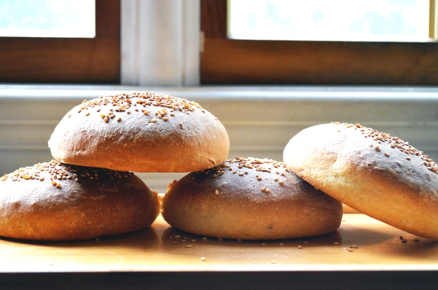 Wholewheat hamburger Buns